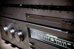 Ciérrese para arriba del sistema de sonido Imagen de archivo libre de regalías