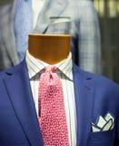 Ciérrese para arriba del traje masculino Imagenes de archivo