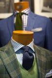 Ciérrese para arriba del traje masculino Fotografía de archivo libre de regalías