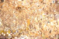 Ciérrese para arriba en cristal de la lámpara contemporánea foto de archivo libre de regalías