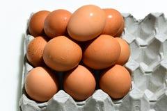 Ciérrese para arriba en el huevo de la pirámide Foto de archivo