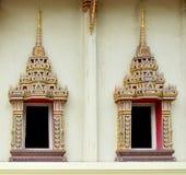 Ciérrese para arriba en el templo tailandés Fotos de archivo libres de regalías