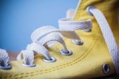 Ciérrese para arriba en el zapato Imagen de archivo