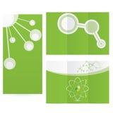 Ciência abstrata da molécula Imagem de Stock Royalty Free