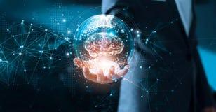 Ciência abstrata Rede e inovação fotos de stock royalty free