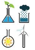 Ciência ambiental Foto de Stock