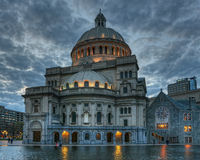 Ciência Boston miliampère de Cristian Imagens de Stock