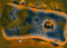 Ciência criativa da arte do mundo da microbiologia imagem de stock royalty free