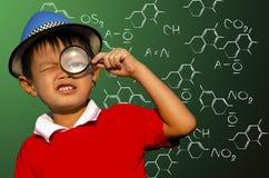 Ciência das crianças Fotos de Stock