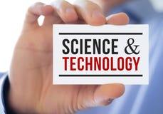 Ciência e tecnologia imagens de stock royalty free