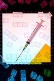 Ciência - laboratório da biotecnologia Fotografia de Stock