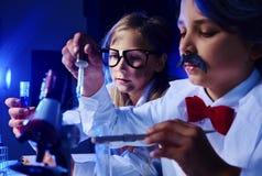 Ciência química Imagens de Stock Royalty Free