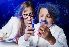 Ciência química Imagem de Stock Royalty Free