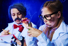 Ciência química Fotos de Stock Royalty Free