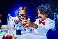 Ciência química Fotografia de Stock