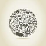 Ciência uma esfera ilustração do vetor