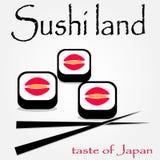 Ciò è icone dei sushi Immagine Stock Libera da Diritti