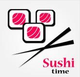 Ciò è icone dei sushi Immagine Stock