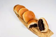 Ciò è il pane che Anko è stato riempito Fotografie Stock