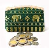Borsa delle monete. Fotografie Stock