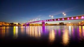 Ciò è un ponte dell'arcobaleno Fotografia Stock