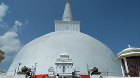 Ciò è un posto religioso della Sri Lanka Immagine Stock