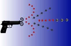 Pistola della mazza Fotografia Stock Libera da Diritti