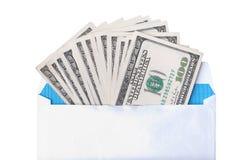 Ciò è una fotografia delle banconote dei dollari Immagini Stock