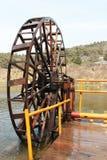 Ruota idraulica Immagine Stock Libera da Diritti