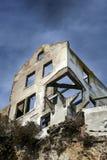 Ciò che resta a Alcatraz Immagine Stock