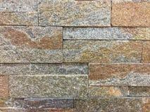 Ciąć granitowa kamienna ściana mieszająca dla dekoruje deseniowego abstrac Obraz Royalty Free