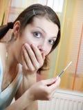 ciążowy test Obrazy Royalty Free