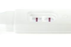 Ciążowy test 04 Fotografia Royalty Free