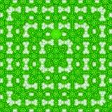 Ciągłej kwadrat ramy koronkowy deseniowy kalejdoskop Fotografia Stock