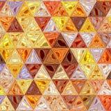 Ciągły wzór trójboki nowożytna elegancka tekstura Wielostrzałowe geometryczne trójbok płytki zdjęcia royalty free