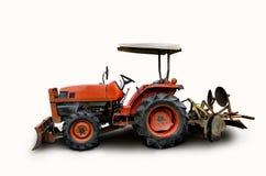 Ciągnik jest rolniczym wyposażeniem rolnicy Zdjęcia Royalty Free