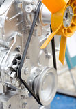 Ciągnikowego silnika szczegóły obraz royalty free