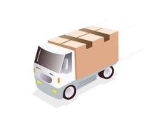 ciężarówka ładunku ilustracji