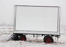 ciężarówka billboard przyczepy Fotografia Royalty Free