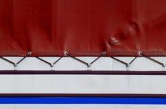 ciężarówka brezent Zdjęcie Stock