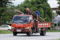 Ciężarówka duduś firma zdjęcia royalty free