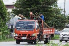 Ciężarówka duduś firma obrazy stock