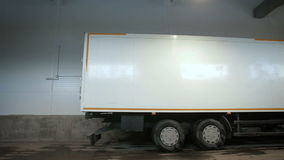 Ciężarówka liście Od magazynu zbiory wideo