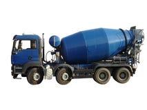 ciężarówka melanżeru cementowego Obrazy Stock