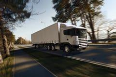 Ciężarówka na drodze Obraz Royalty Free