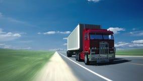 Ciężarówka na drodze 2 (pętla) zbiory