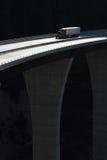 Ciężarówka na na wysokim szczeblu moscie 01 Zdjęcia Stock