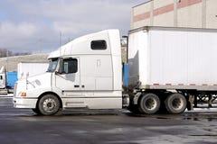 ciężarówka przyczepy ciągnika Fotografia Royalty Free