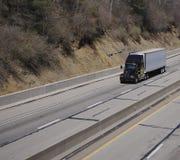 ciężarówka przyczepy ciągnika Obrazy Royalty Free