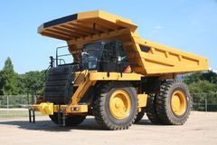 ciężarówka służbie wysypiska mocniej Fotografia Stock